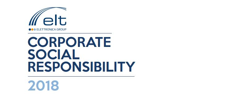 Elettronica approves its Corporate Social Responsibility Report