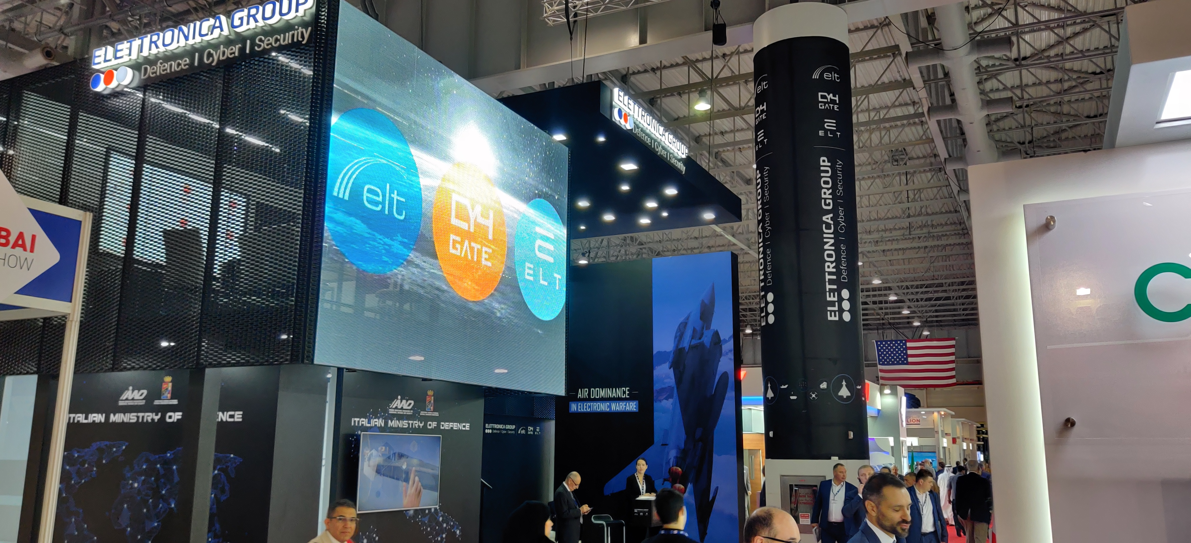 ELETTRONICA GROUP HIGHLIGHTS ITS TECHNOLOGY AT THE DUBAI AIRSHOW